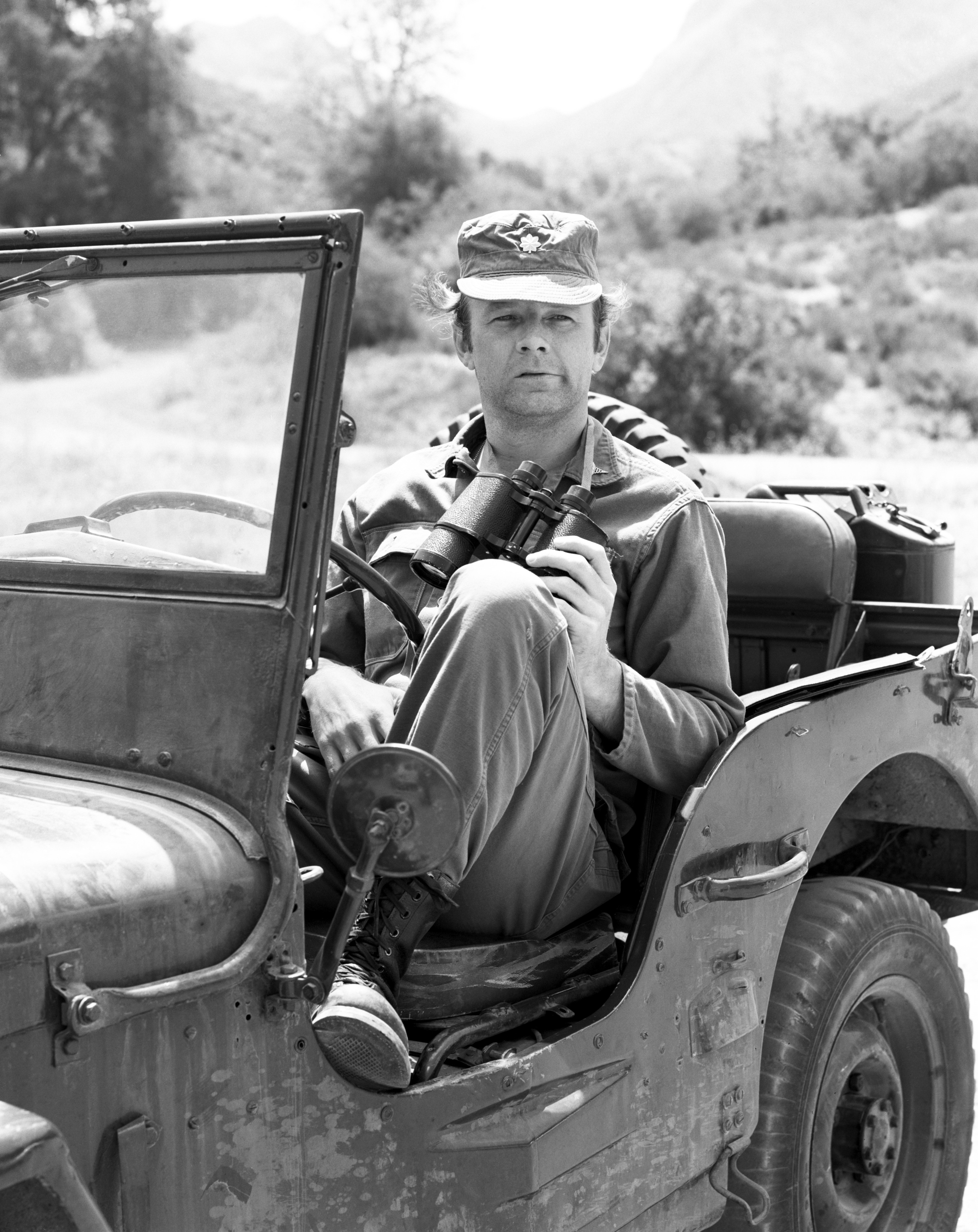 Larry Linville as Major Frank Burns on the CBS television series, M*A*S*H circa 1972. | Source: Getty Images