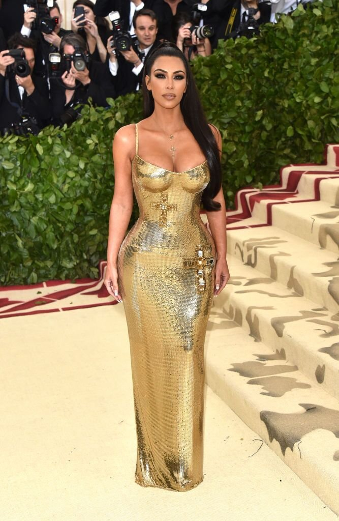 Kim Kardashian West at the 2018 MET Gala in New York | Source: Getty Images