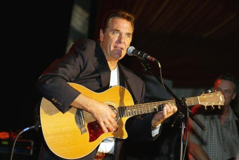 """Chuck Woolery performs at the """"Game Show Networks Winter TCA Tour"""" 2003  