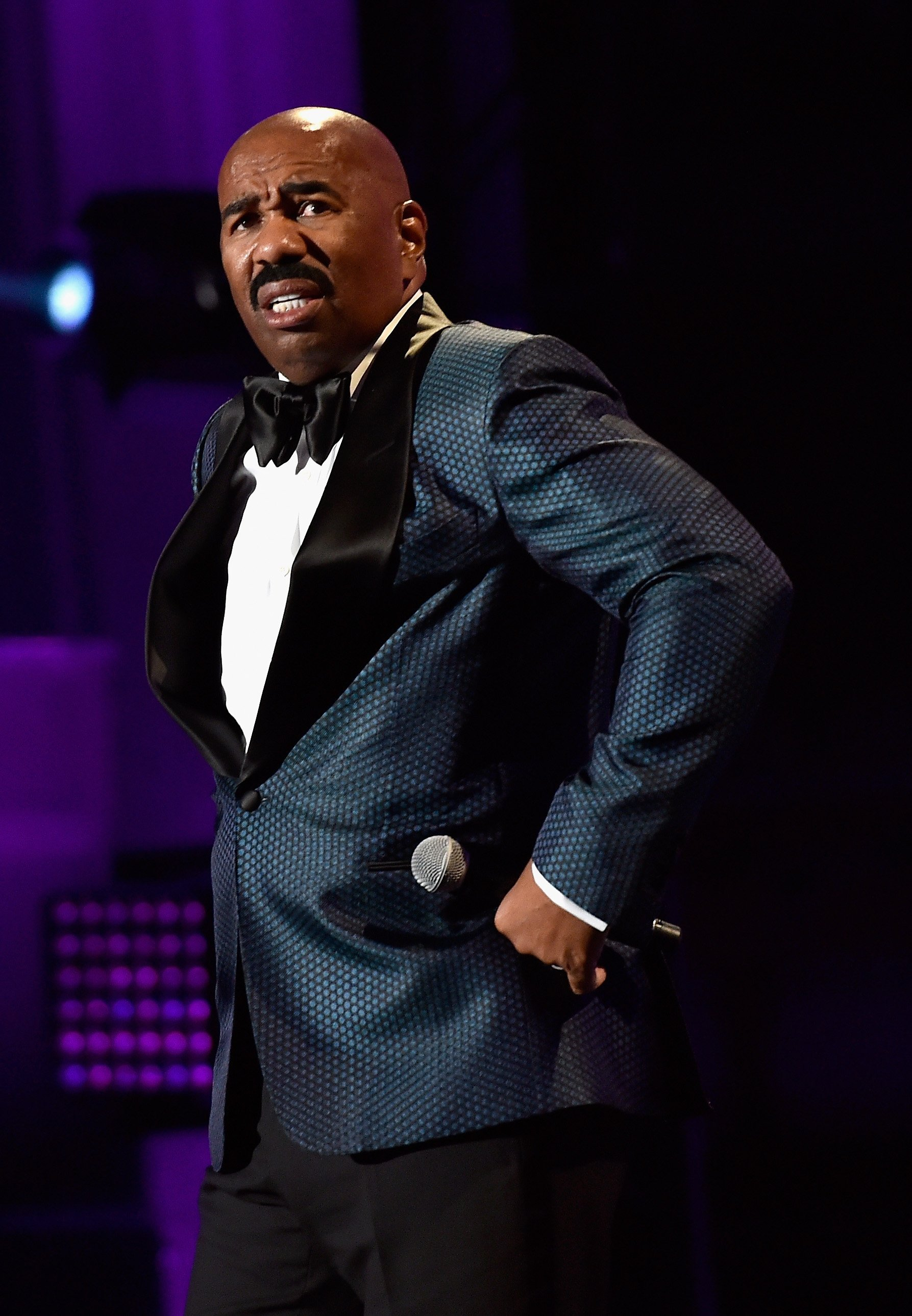 Steve Harvey as host at the 2016 Neighborhood Awards at the Mandalay Bay Events Center on July 23, 2016 in Las Vegas, Nevada. | Source: Getty
