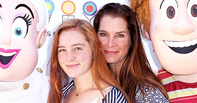 Brooke Shields Adorably Lip-Syncs with Her Daughter to 'Mamma Mia!' Song