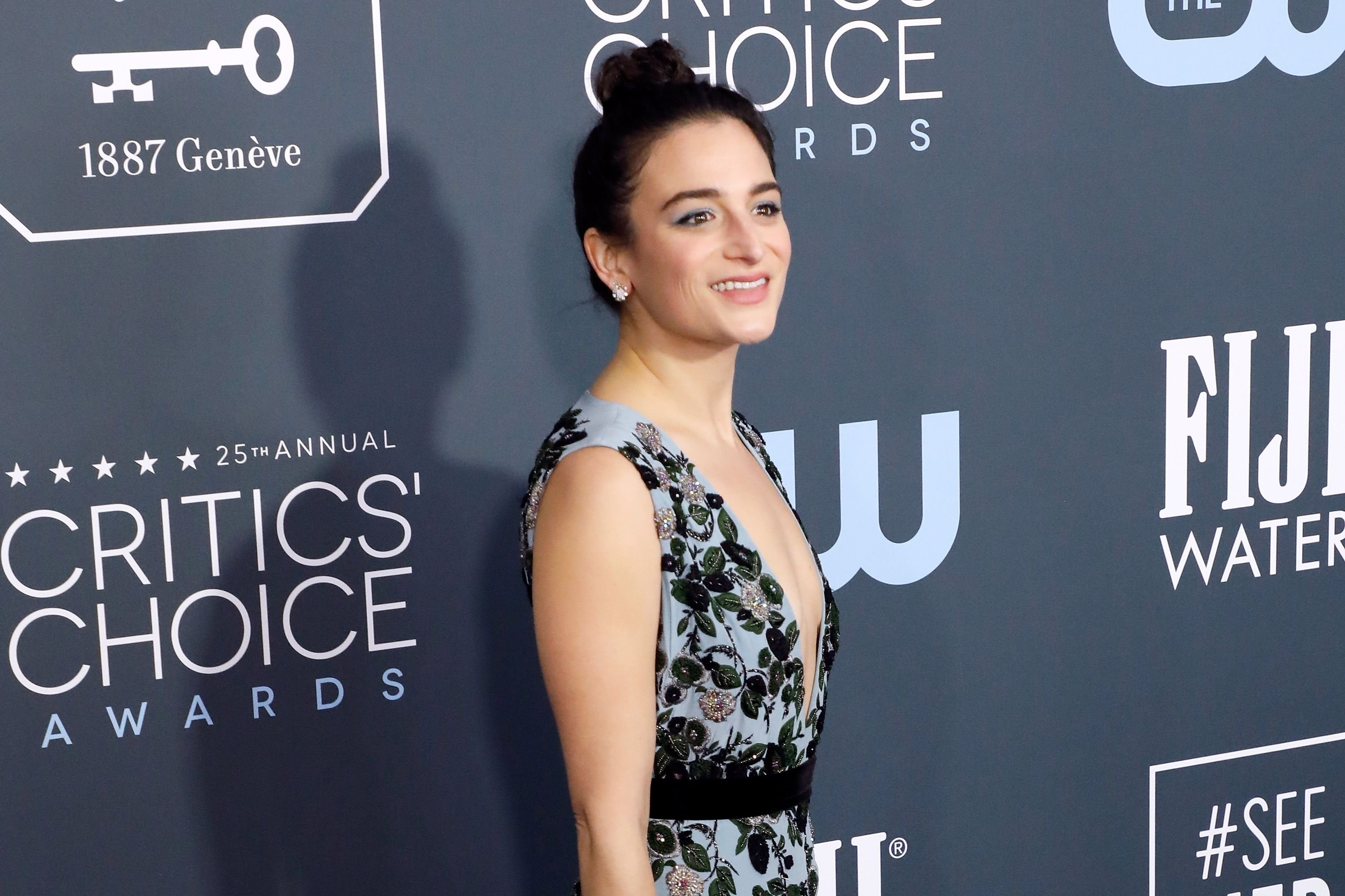 Jenny Slate at the 25th Annual Critics' Choice Awards in 2020 in Santa Monica, California   Source: Getty Images