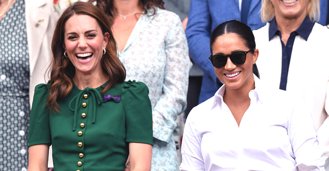 2018 vs. 2019: Kate Middleton and Meghan Markle's Wimbledon Outings Compared