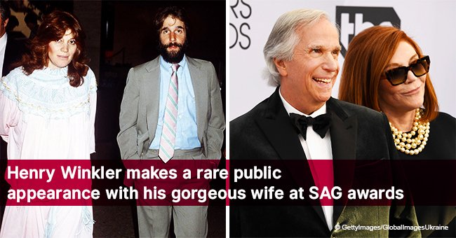 Henry Winkler makes a rare public appearance with his gorgeous wife at SAG awards