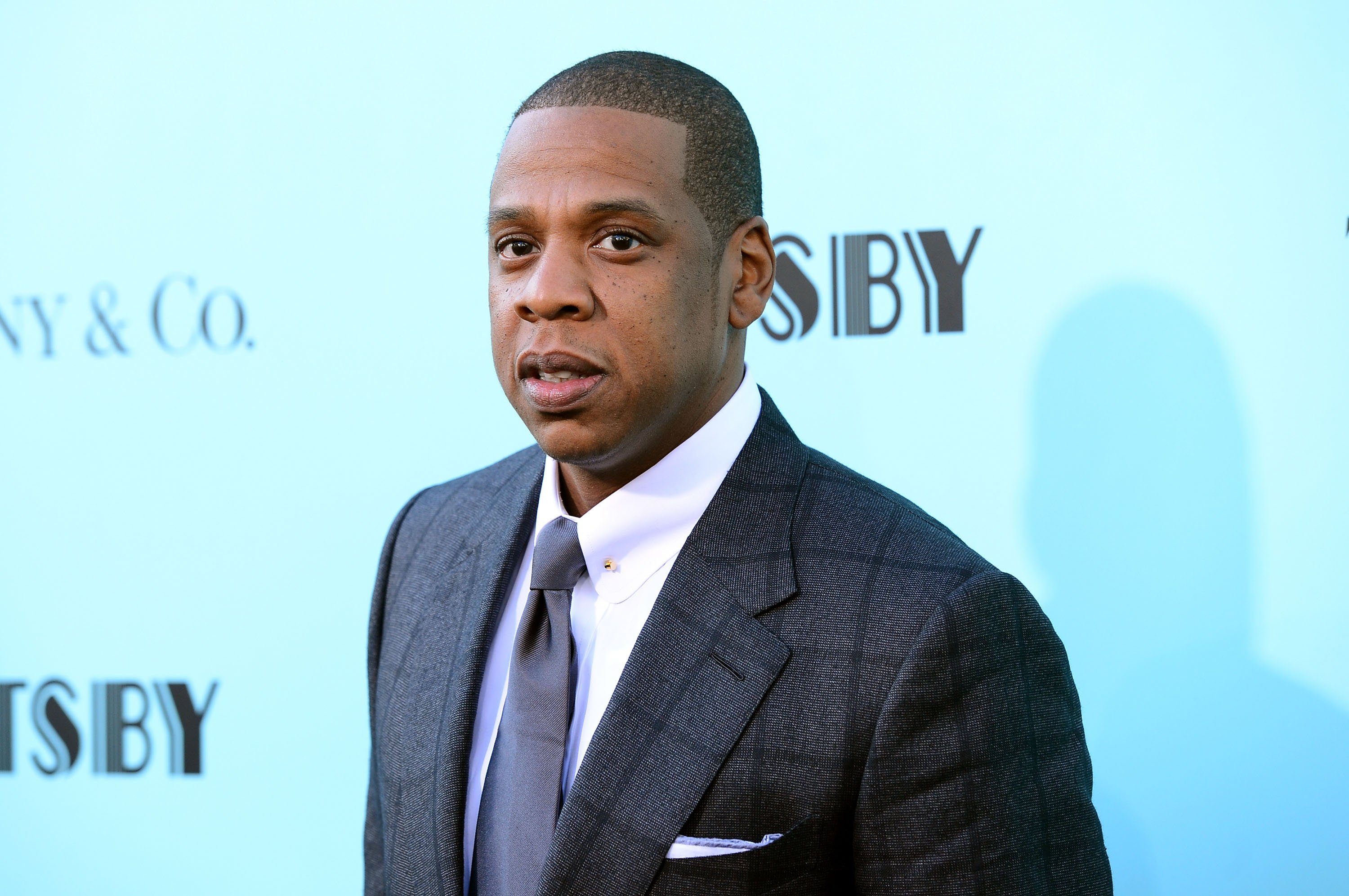 """Jay-Z attends the """"The Great Gatsby"""" world premiere on May 1, 2013. 