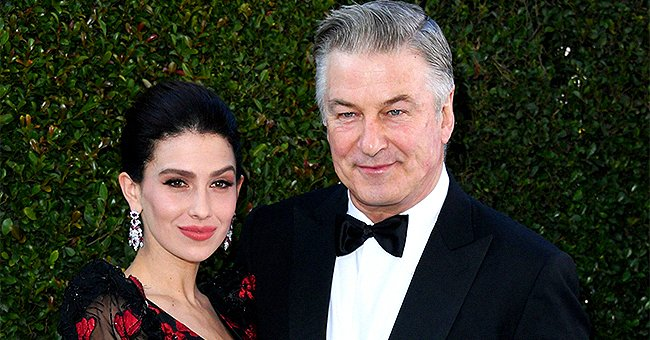 Alec Baldwin Poses with Pregnant Wife Hilaria and Their 4 Kids in a Sweet Easter Photo