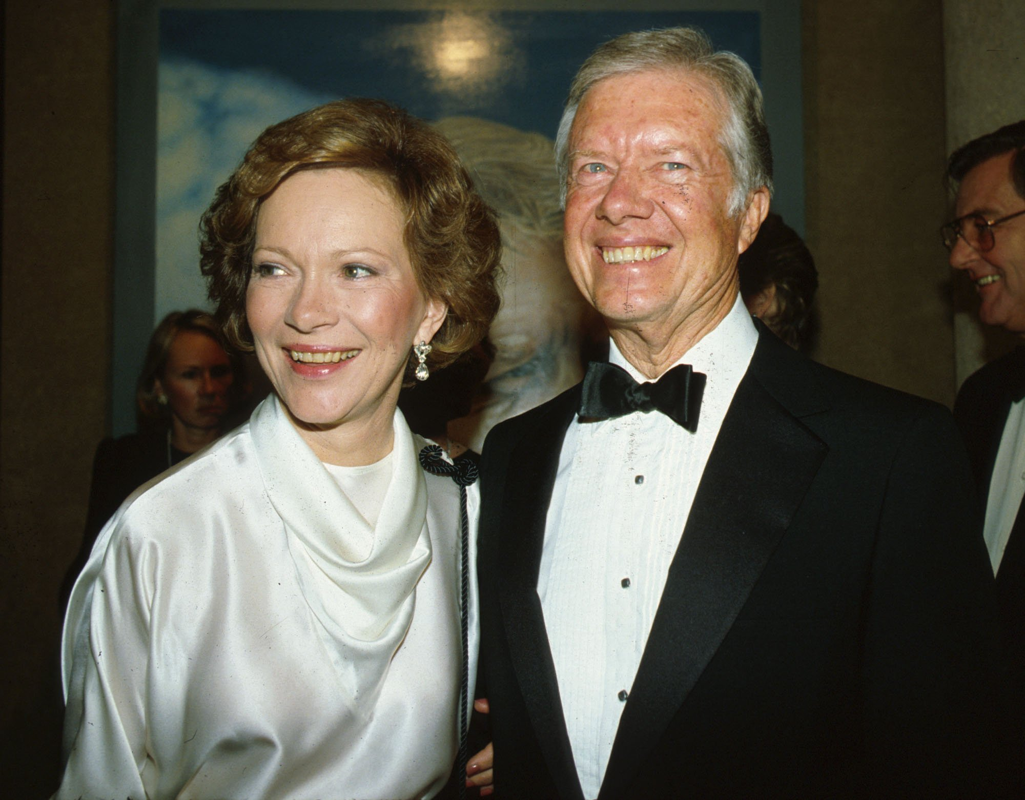 Jimmy and Rosalynn Carter in New York City, NY, October 4, 1983. | Source: Getty Images.