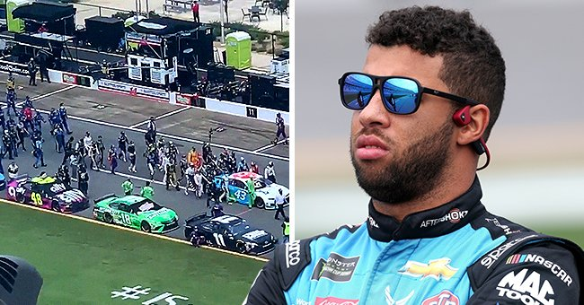 NASCAR Drivers Show Support for Bubba Wallace after a Noose Was Found in His Garage
