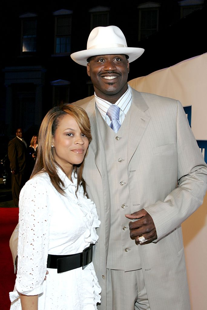 Shaunie O'Neal and husband basketball player Shaquille O'Neal arrive at the 3rd annual GM All-Car Showdown held at Paramount Pictures | Photo: Getty Images