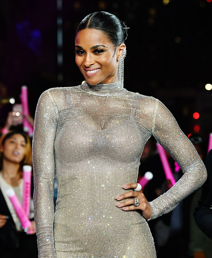 Ciara poses during the 2019 American Music Awards in November 2019. I Photo: Getty Images.