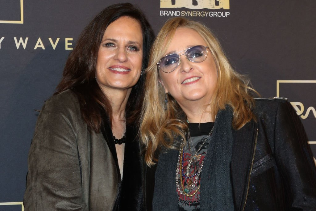 Linda Wallem (L) and Singer Melissa Etheridge (R) attend the Primary Wave 13th Annual Pre-GRAMMY bash at The London West Hollywood on February 09, 2019 in West Hollywood, California. | Source: Getty Images