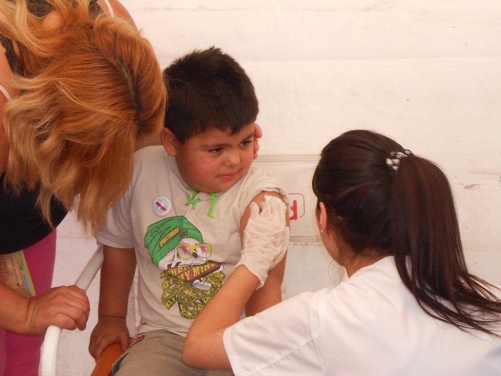 Vacunación contra la Hepatitis B. | Foto: Flickr