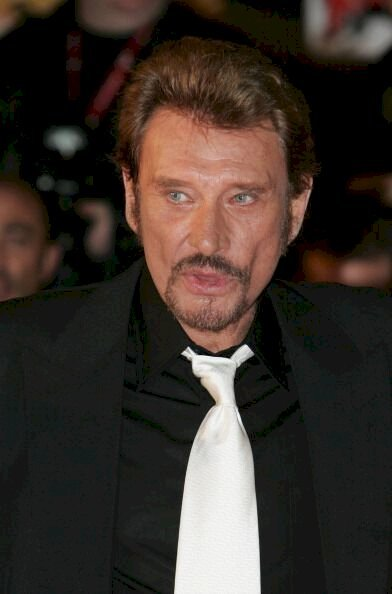 Le chanteur français  Johnny Hallyday. | Photo : Getty Images