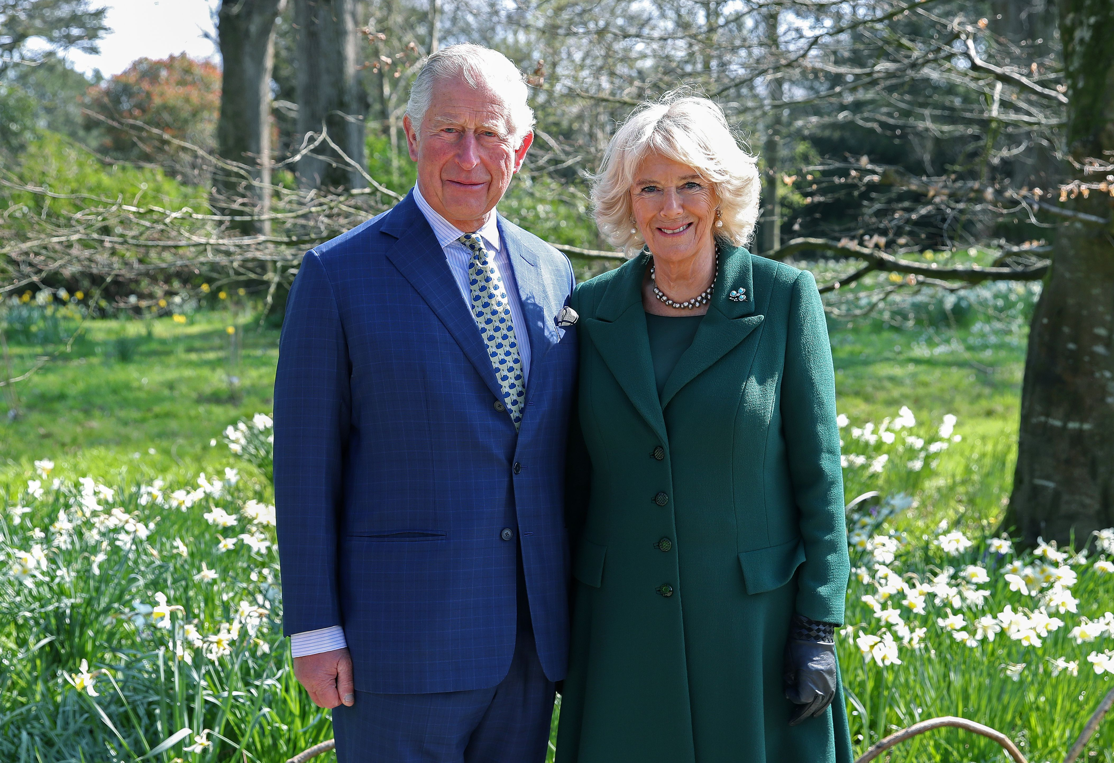 Prince Charles and Duchess Camilla at the reopening of Hillsborough Castle on April 09, 2019, in Belfast, Northern Ireland | Photo: Chris Jackson-WPA Pool/Getty Images