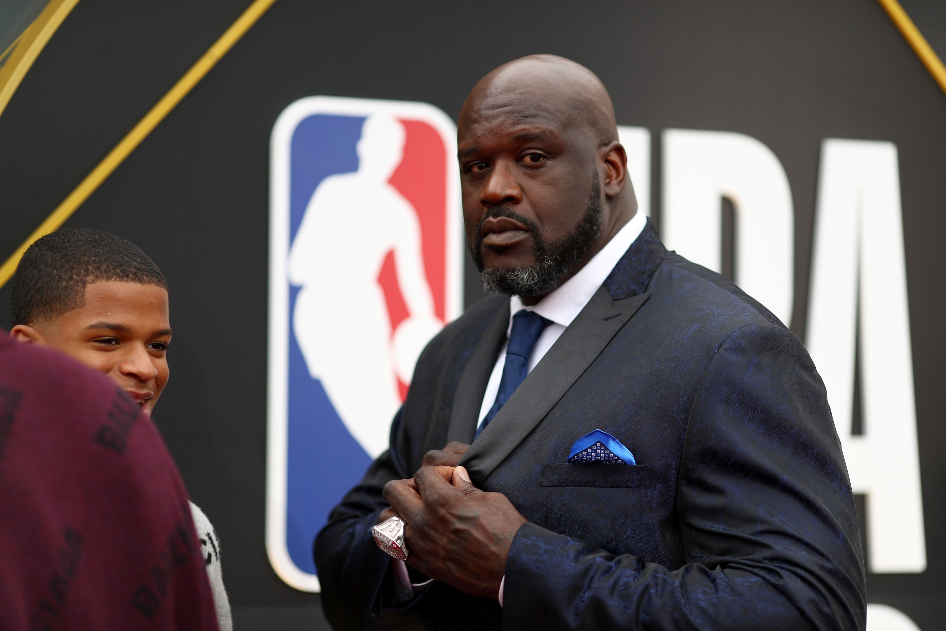 Shaquille O'Neal attends the 2019 NBA Awards presented by Kia on TNT. | Source: Getty Images