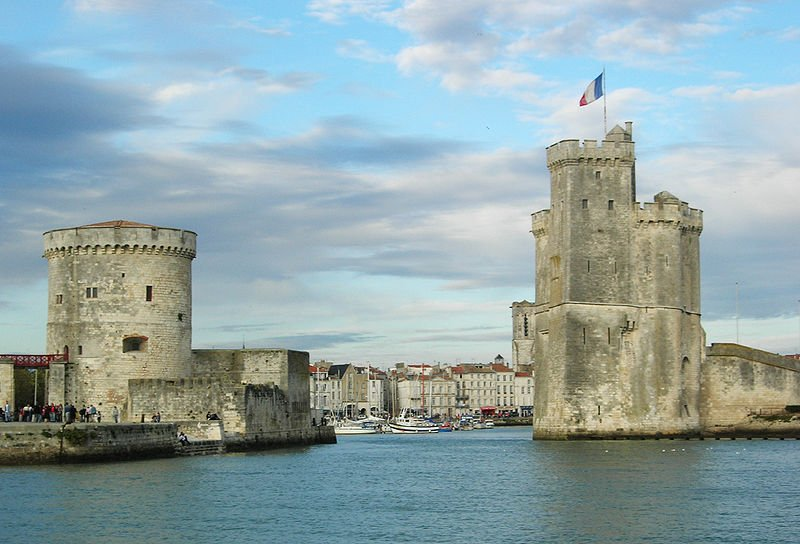 La Rochelle, Vieux Port | Source: Wikipedia