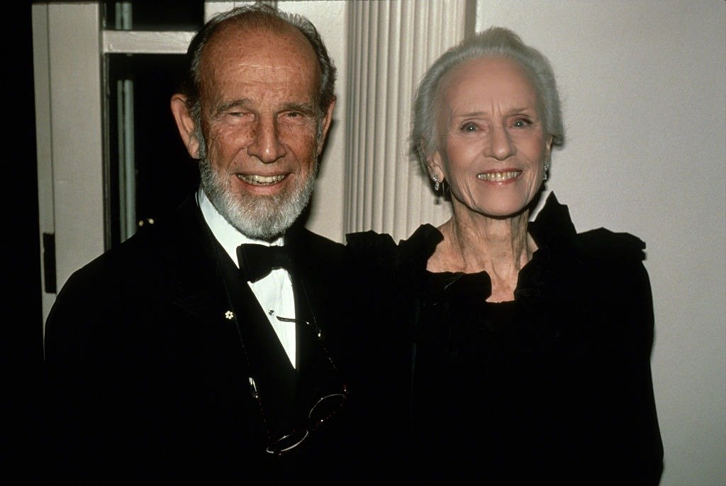 A photo of Hume Cronyn and Jessica Tandy in New York City circa 1990 | Photo: Getty Images