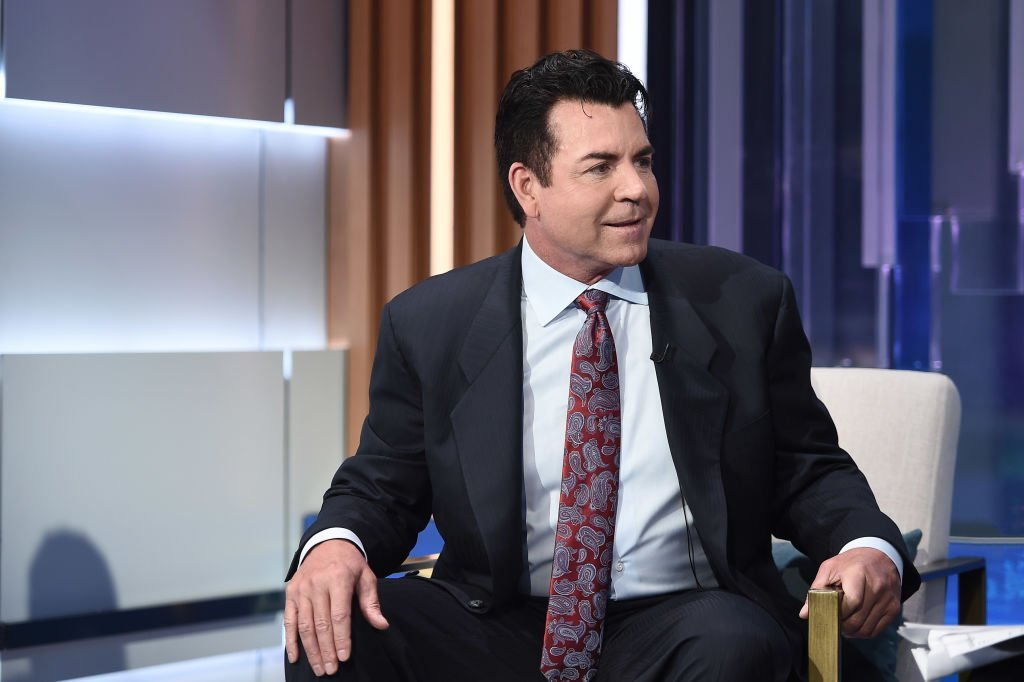 """John Schnattner visits """"Mornings with Maria"""" hosted by Maria Bartiromo at Fox Business Network Studios 