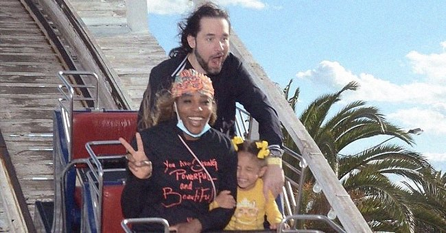 Serena Williams Has Fun on a Roller Coaster in Australia with Her Husband & Daughter Olympia
