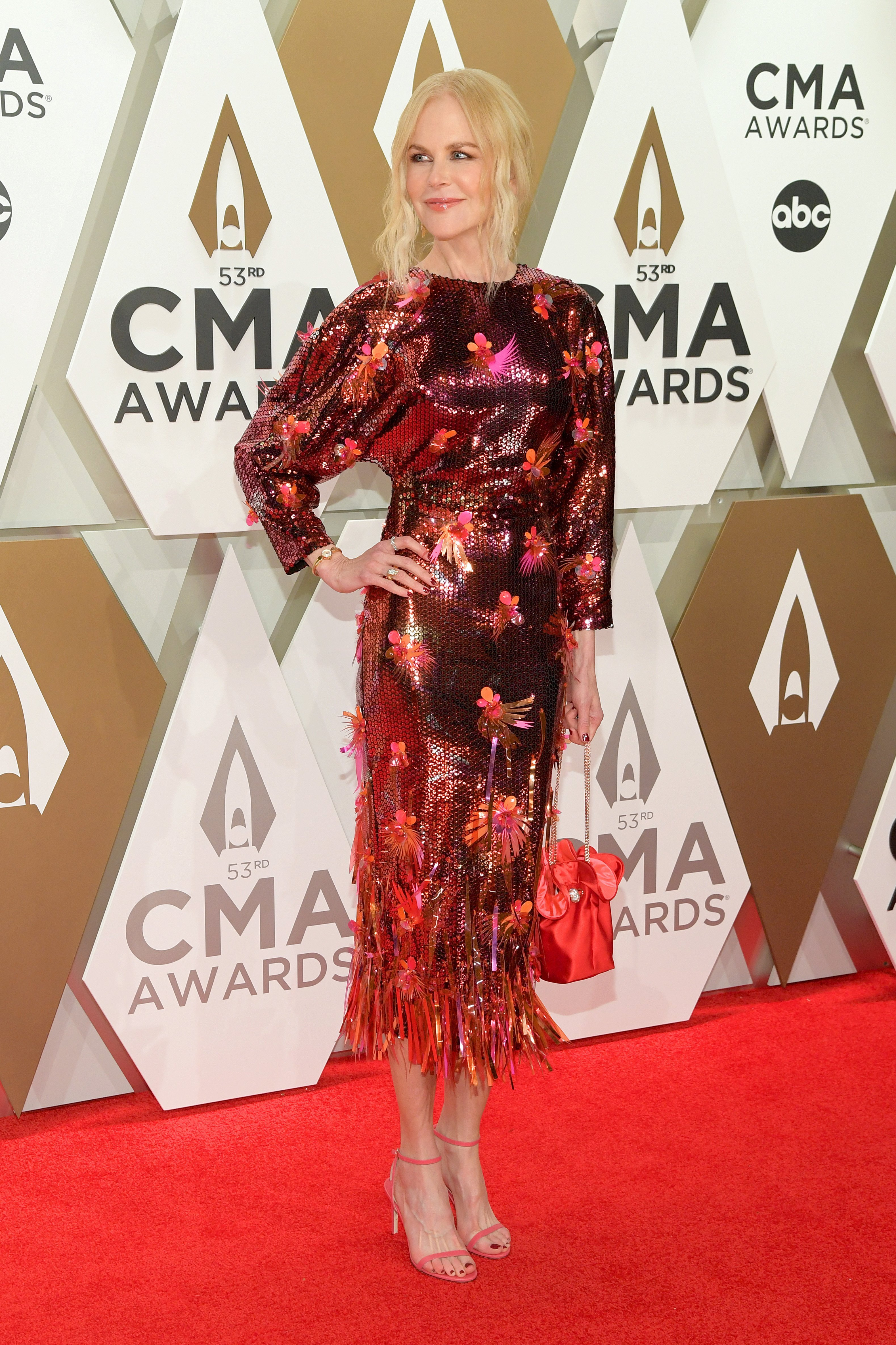 Nicole Kidman at the 53rd annual CMA Awards at Bridgestone Arena on November 13, 2019, in Nashville, Tennessee | Photo: Getty Images