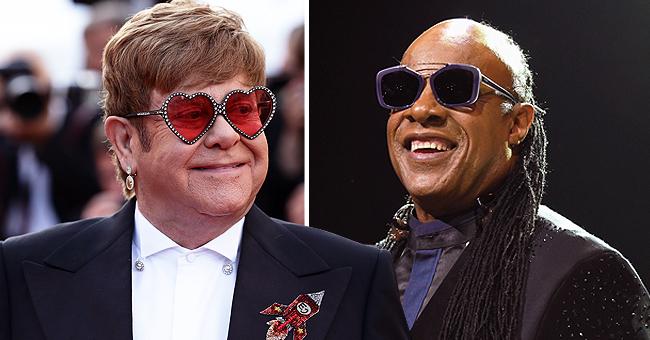 Elton John Recalls How He Once Let Stevie Wonder Drive a Snowmobile on 'Jimmy Kimmel Live'