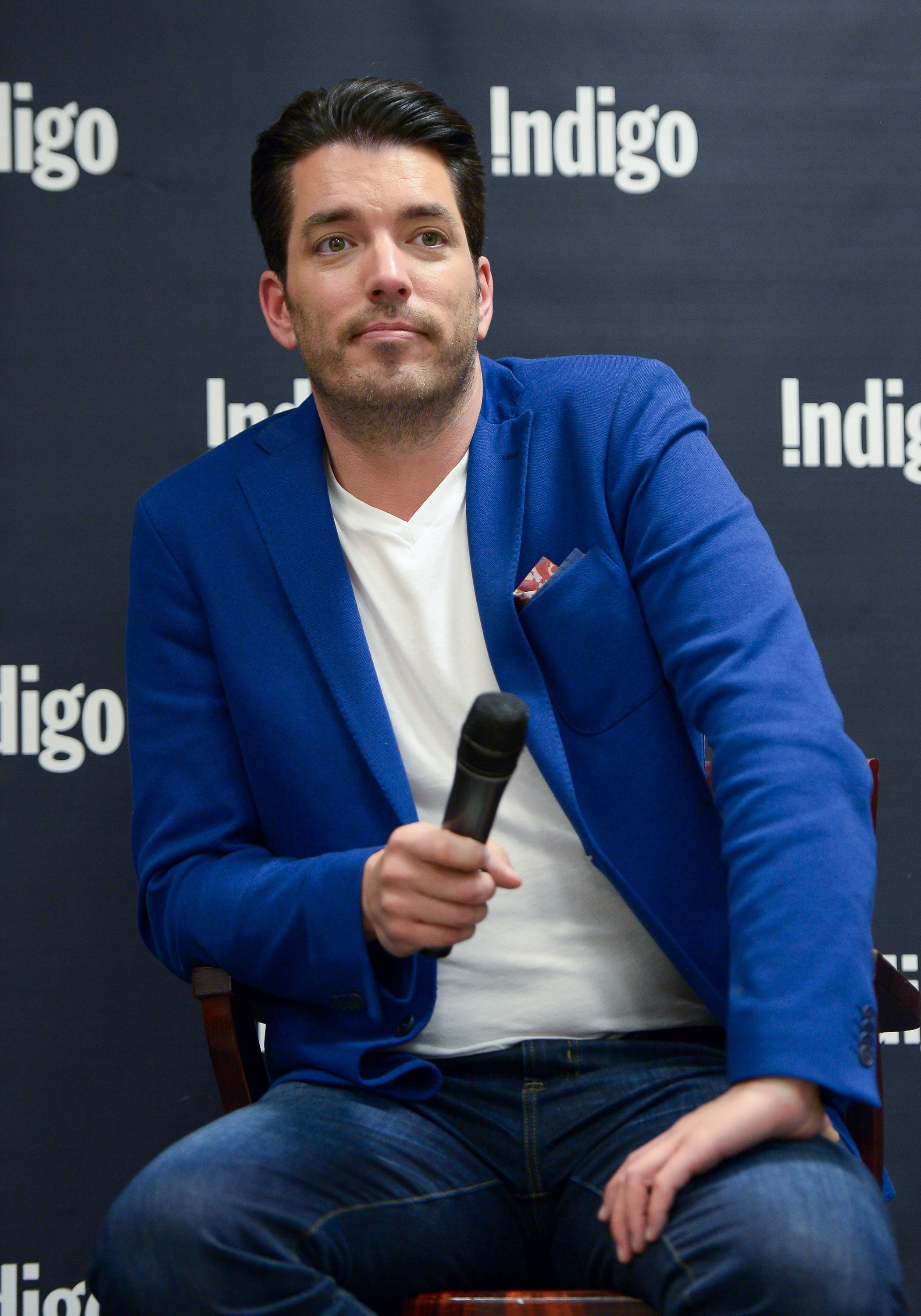 """Jonathan Scott at the launch of his new book """"Dream Home"""" at Indigo Manulife Centre on April 15, 2016, in Toronto, Canada 
