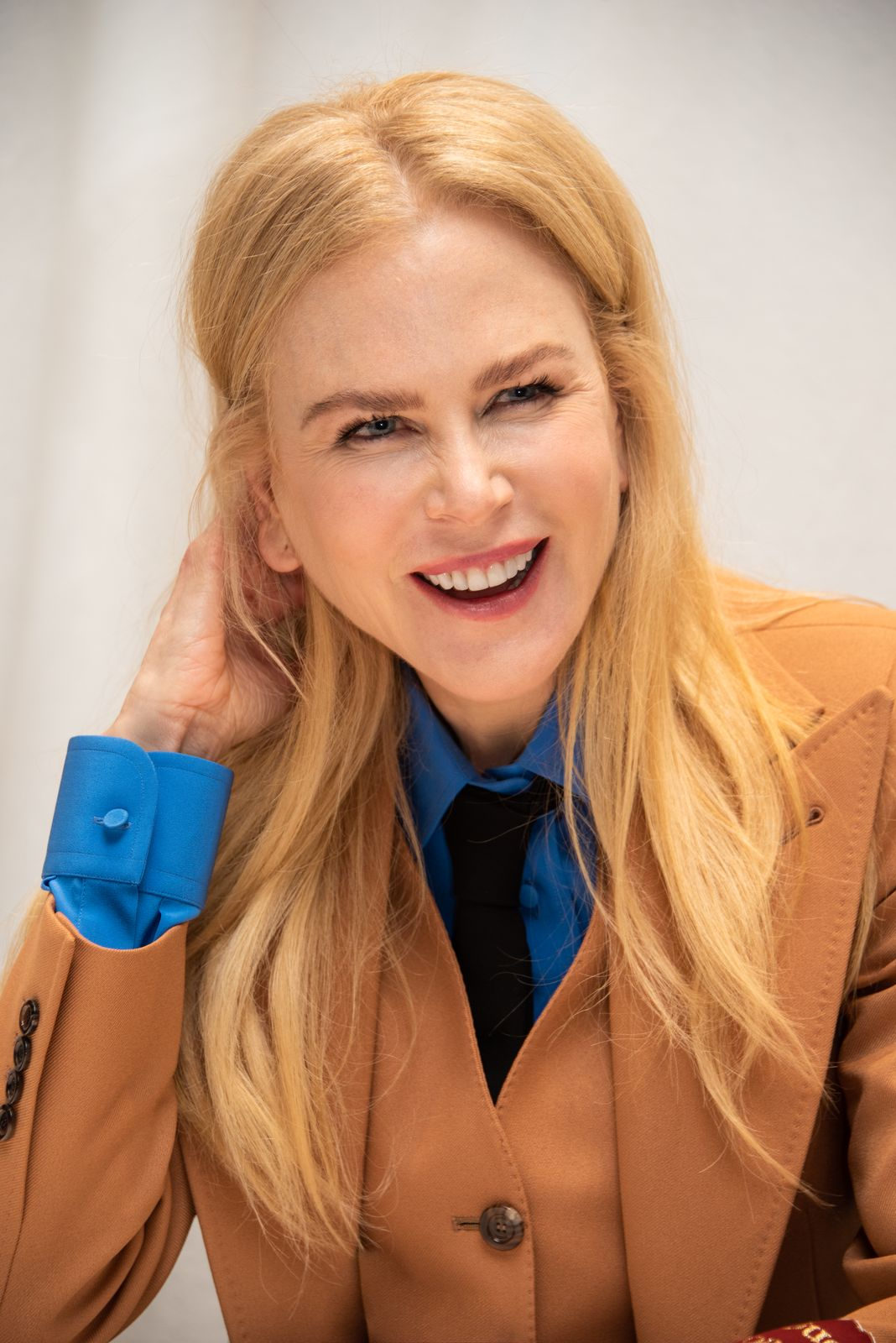 """Nicole Kidman at """"The Undoing"""" Press Conference at the Four Seasons Hotel on March 09, 2020   Getty Images"""