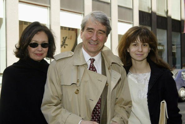 Lynn Louisa Woodruff Waterston, Sam Waterston, and Katherine Waterston at The Cort Theatre in New York City, April 13, 2003. | Photo: Getty Images