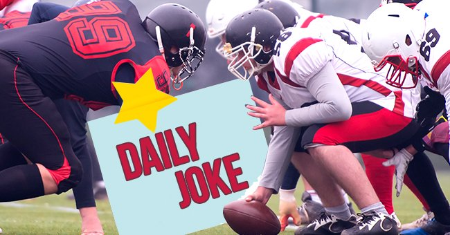 Daily Joke: Freshman Qualifies for the College Football Team