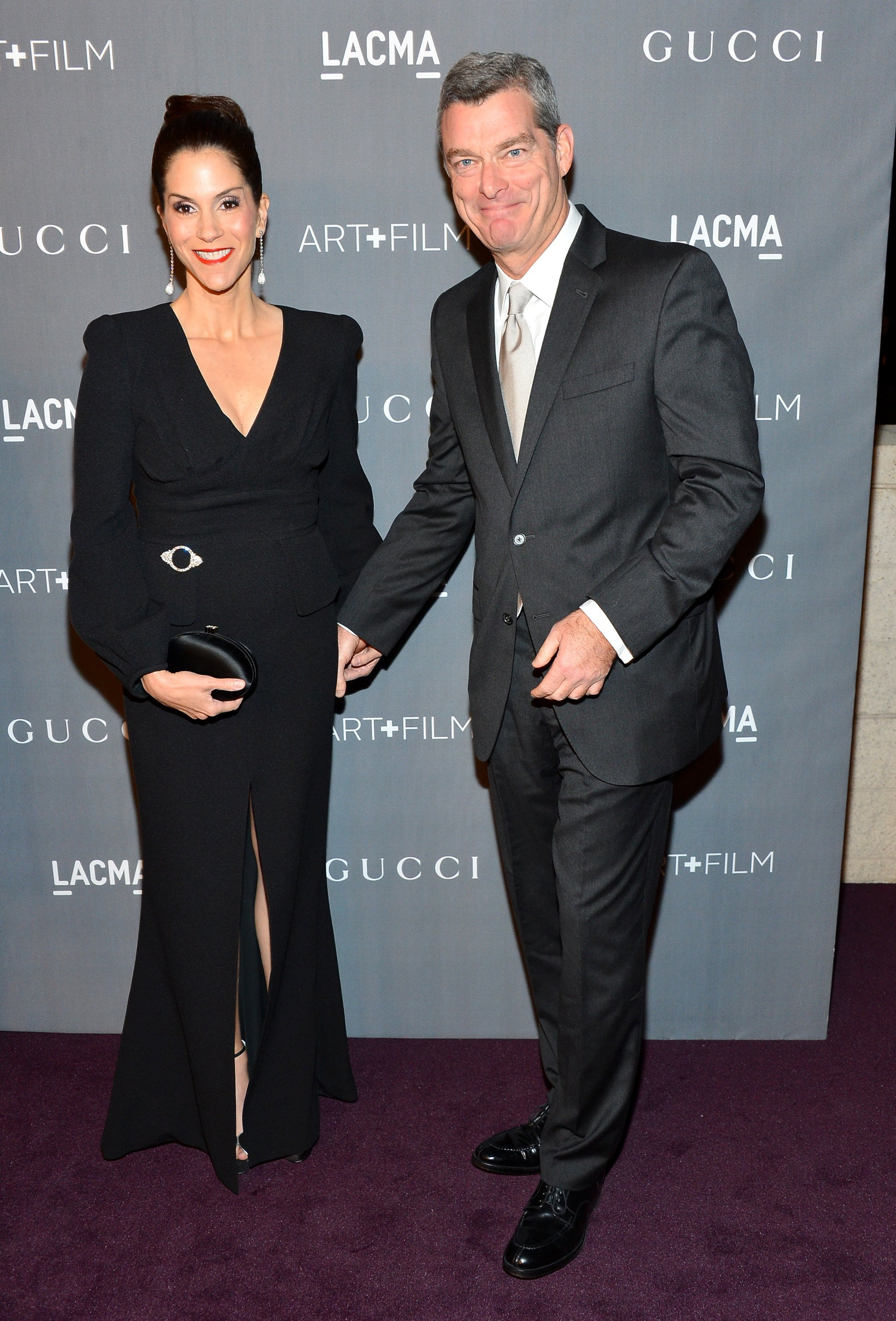 Jami Gertz and Antony Ressler arrive at LACMA 2012 Art + Film Gala at LACMA on October 27, 2012. | Source: Getty Images