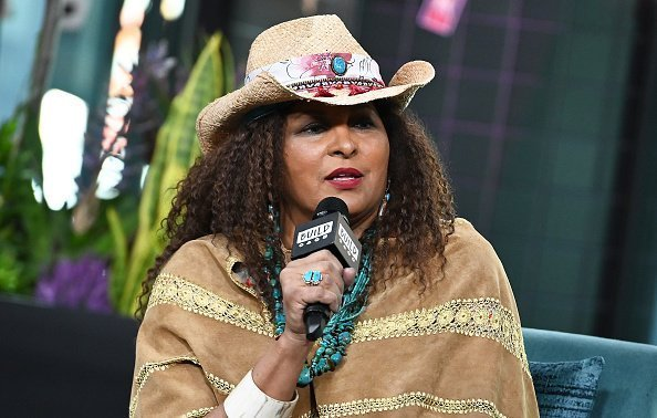 Actress Pam Grier visits Build Series to discuss subscription video-on-demand service BrownSugar.com at Build Studio in New York City | Photo: Getty Images