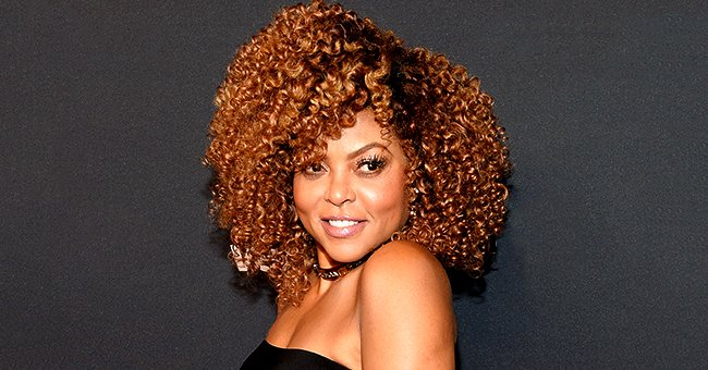 Taraji P Henson Shows off Red Curly Hair and Self Makeup Amid Pandemic