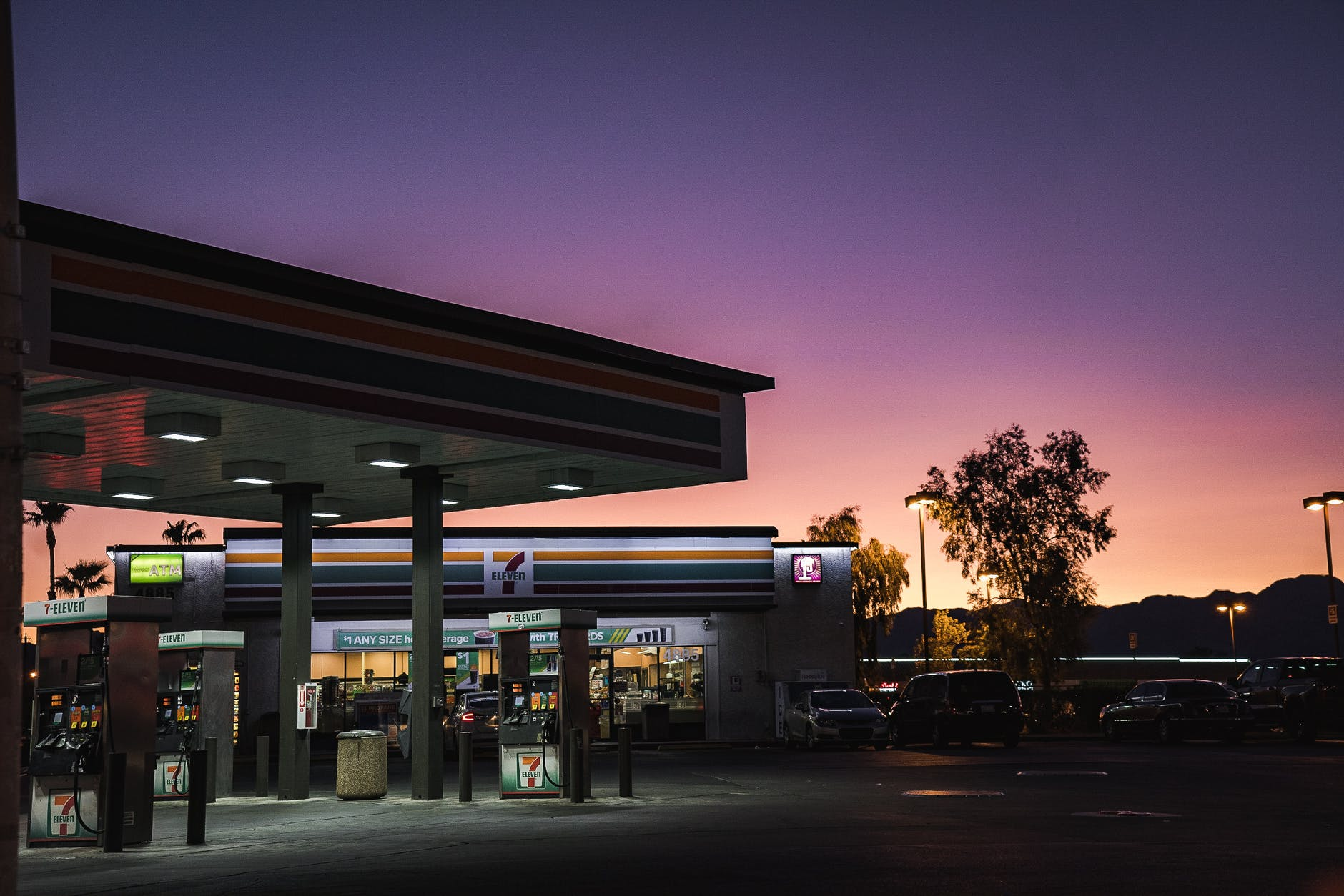 Jenson walked to the gas station, but they didn't let him in.   Source: Pexels