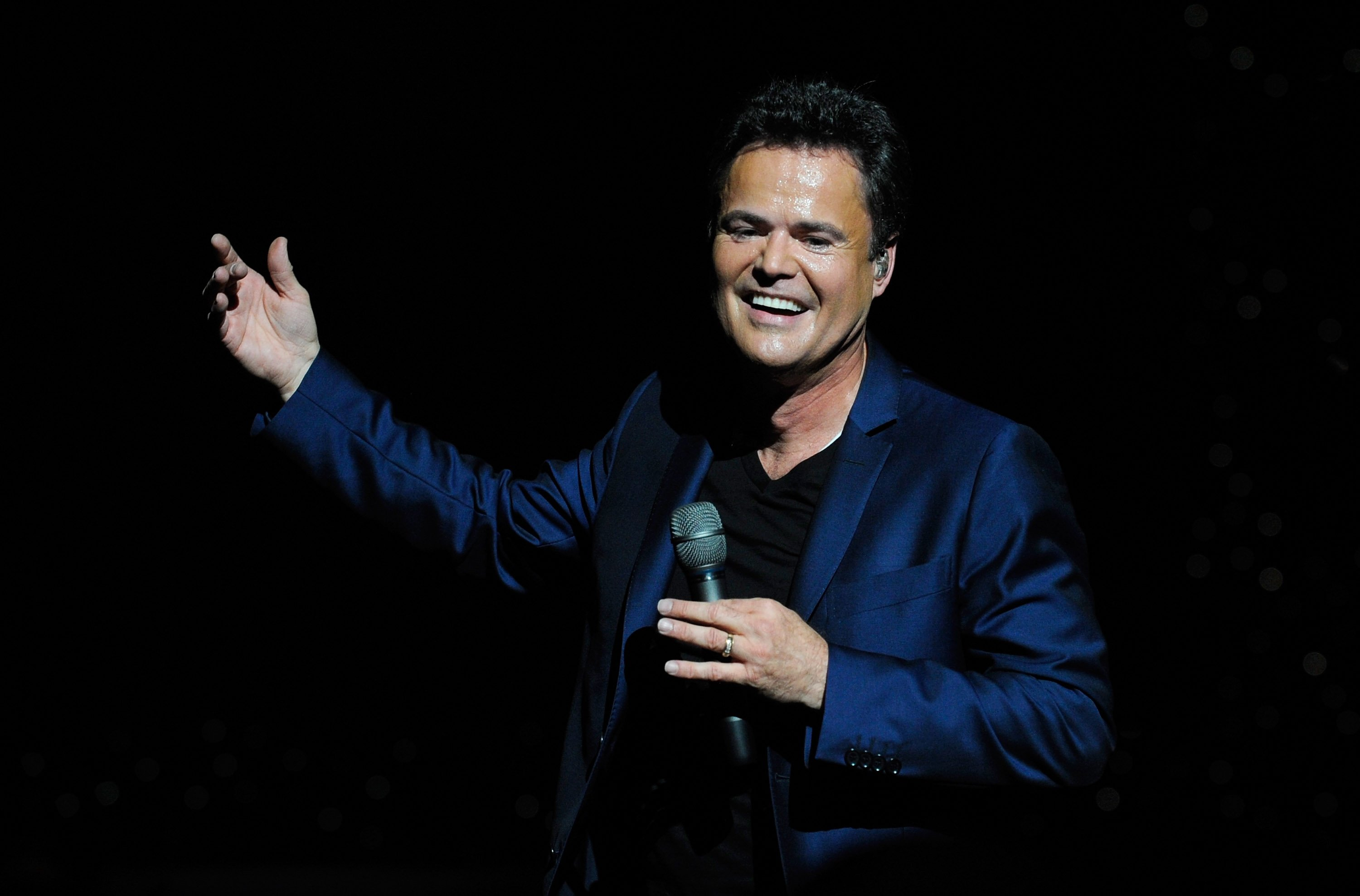 Donny Osmond during the Donny & Marie variety show at the Flamingo Las Vegas October 17, 2012  | Photo: GettyImages