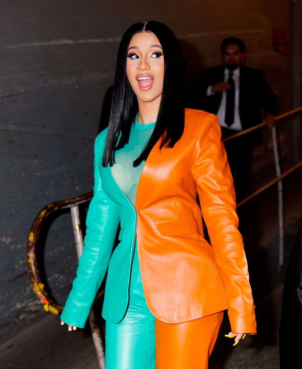 Cardi B during a Vogue event on October 10, 2019 in New York City. | Source: Getty Images