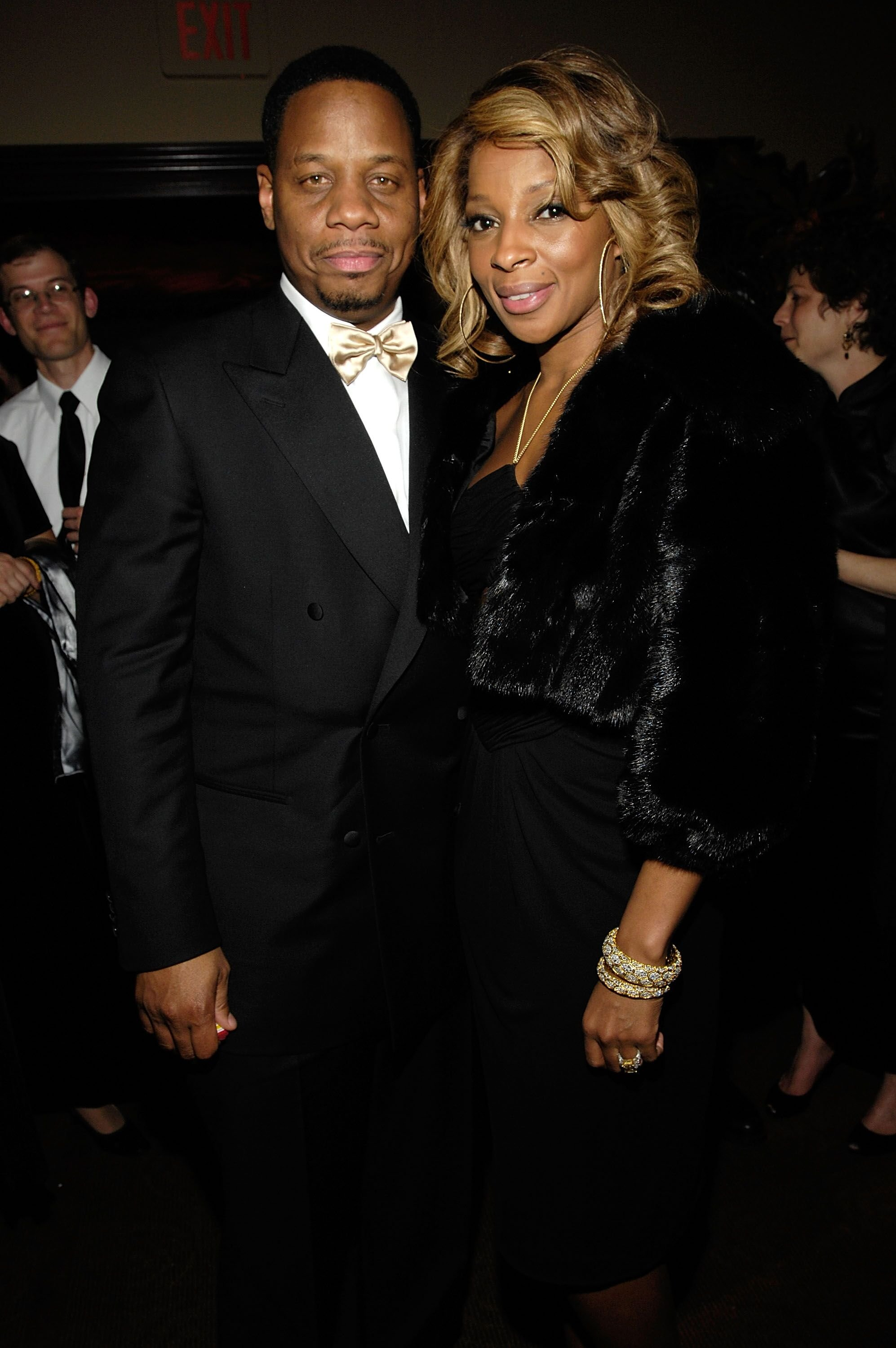 Mary J. Blige and ex-husband Kendu Isaacs/ Source: Getty Images