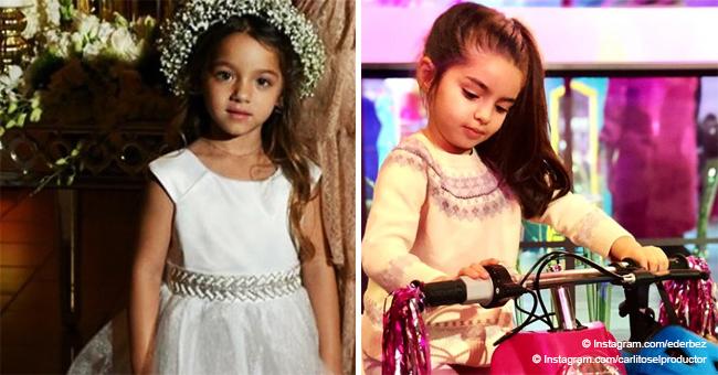 Concurso de belleza entre las hijas de Adamari López y Eugenio Derbez