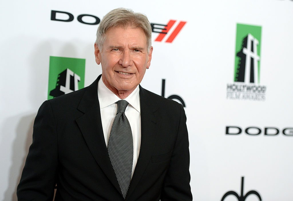 Actor Harrison Ford arrives at the 17th annual Hollywood Film Awards on October 21, 2013 | Photo: Getty Images
