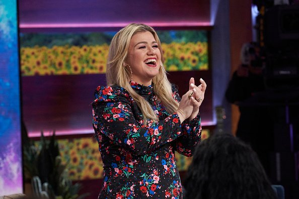 "Kelly Clarkson on Season 1 of  ""The Kelly Clarkson Show."" 
