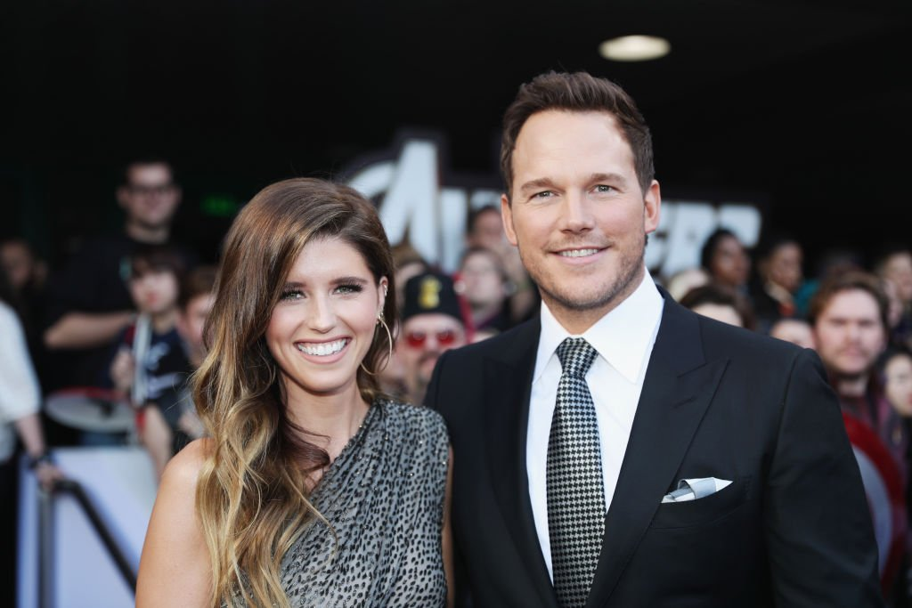 """Katherine Schwarzenegger and Chris Pratt attend the Los Angeles World Premiere of Marvel Studios' """"Avengers: Endgame"""" at the Los Angeles Convention Center 