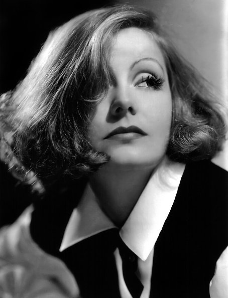 """Greta Garbo poses for a publicity photo for the MGM movie """"As You Desire Me"""" which was released in 1932. 