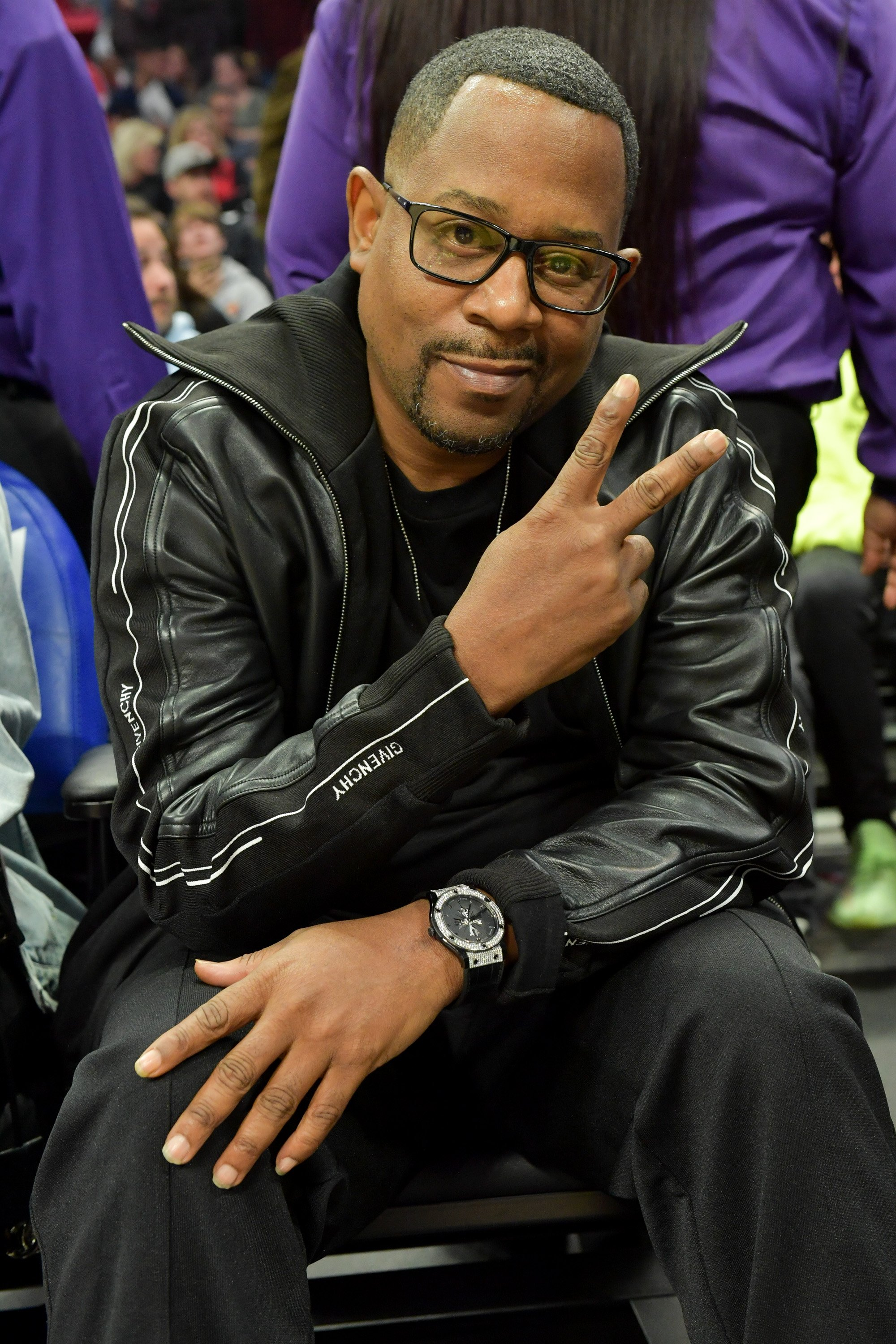 Martin Lawrence attends a basketball game between the Los Angeles Clippers and the Utah Jazz at Staples Center on December 28, 2019. | Photo: Getty Images