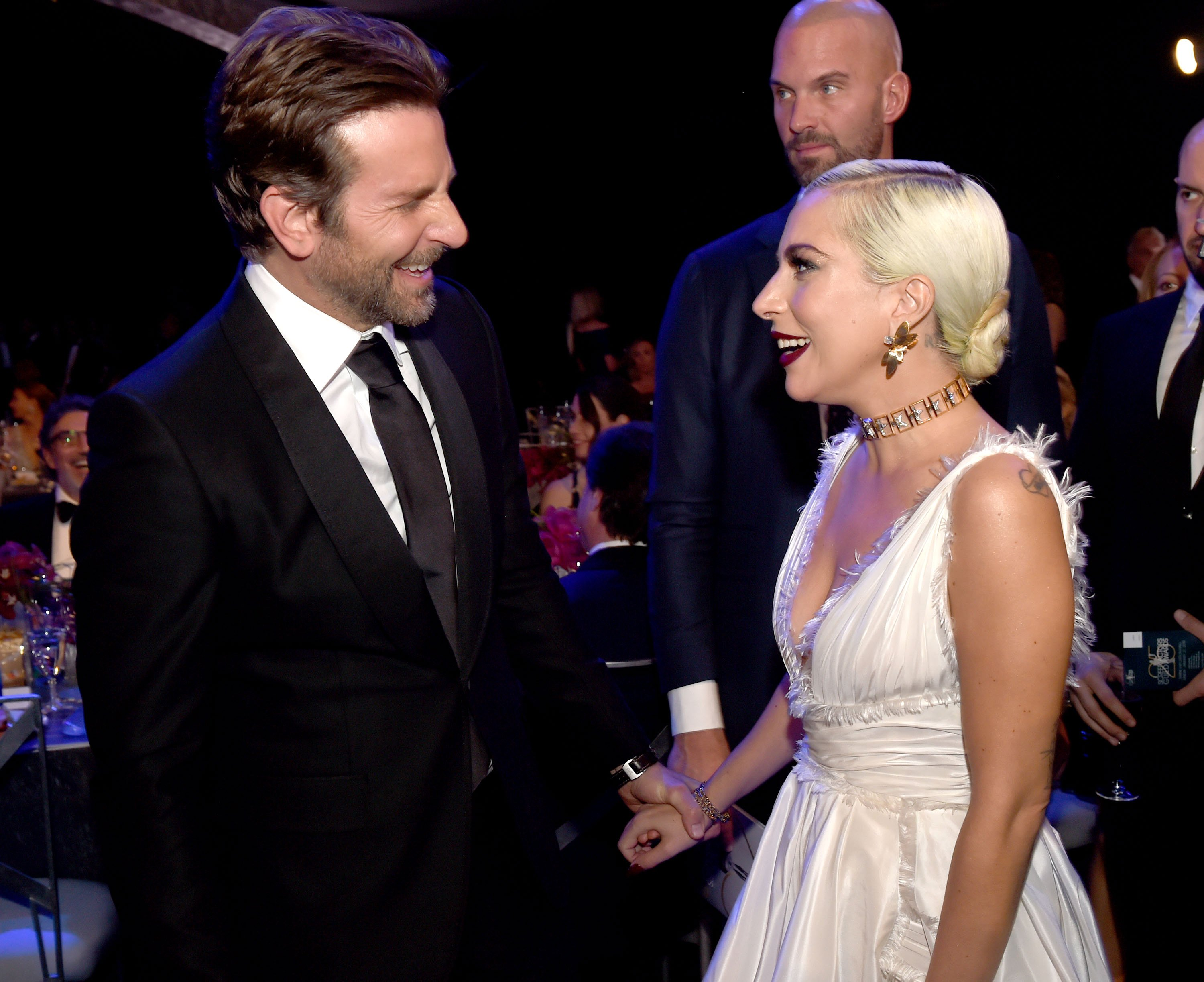 Lady Gaga und Bradley Cooper am 27. Januar 2019 in Los Angeles, Kalifornien | Quelle: Getty Images