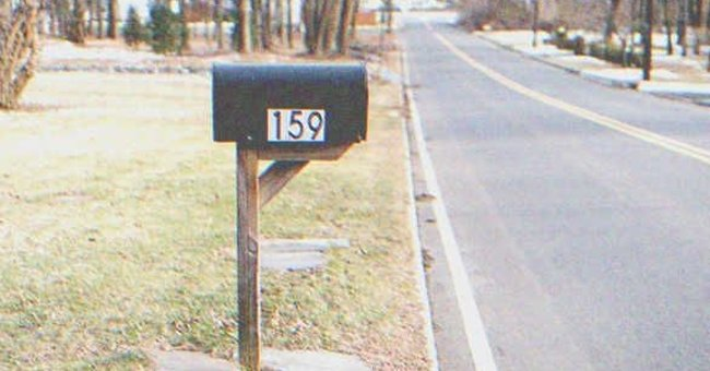 Mrs. Jacobs waited by the mailbox for letters from her son.   Source: Shutterstock