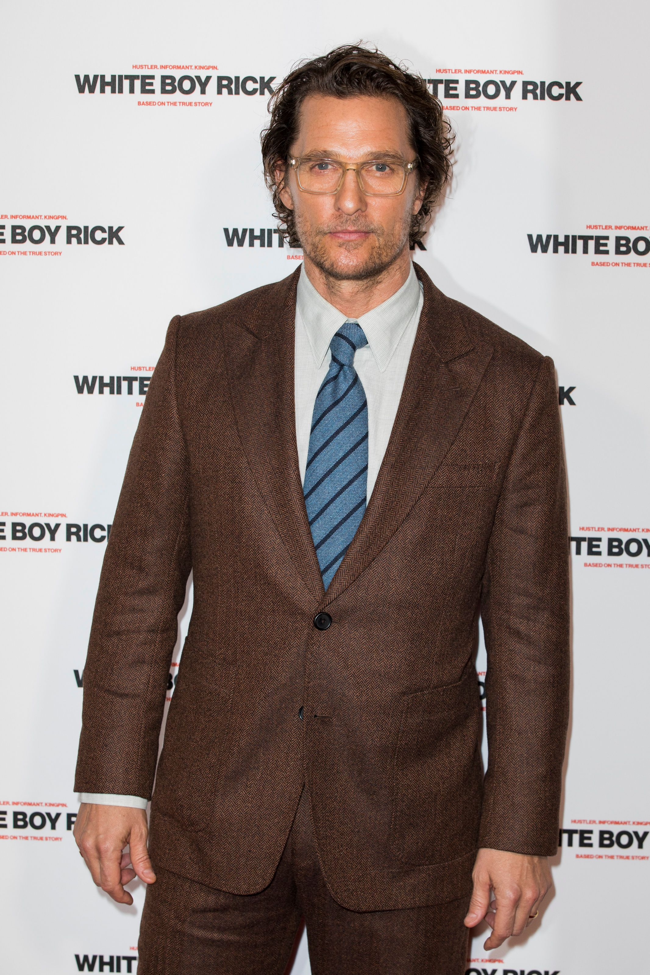 """Matthew McConaughey attends a special screening of """"White Boy Rick"""" at Picturehouse Central on November 27, 2018 in London, England. 