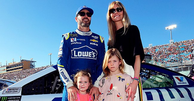 NASCAR Star Jimmie Johnson Is a Proud Dad of 2 Lovely Daughters — Meet Genevieve & Lydia