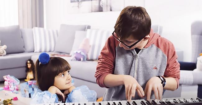 """""""Mi hermano es perfecto como es"""": adorable niña de 4 años sobre su hermano con Síndrome de Down"""
