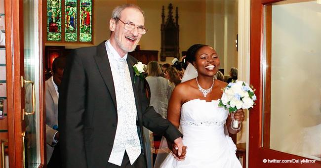 Un couple est tombé amoureux dès le premier regard et s'est fiancé après seulement trois semaines malgré leur différence d'âge de 32 ans