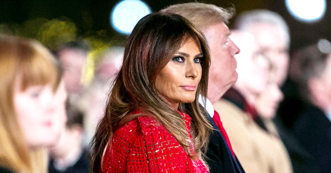 Melania Trump Flaunts Curves in Sleeveless Floral Dress at a White House Dinner