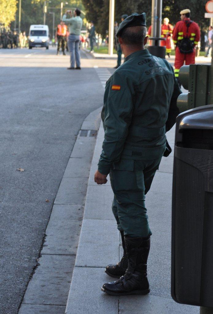 Guardia Civil en la calle | Foto: Flickr